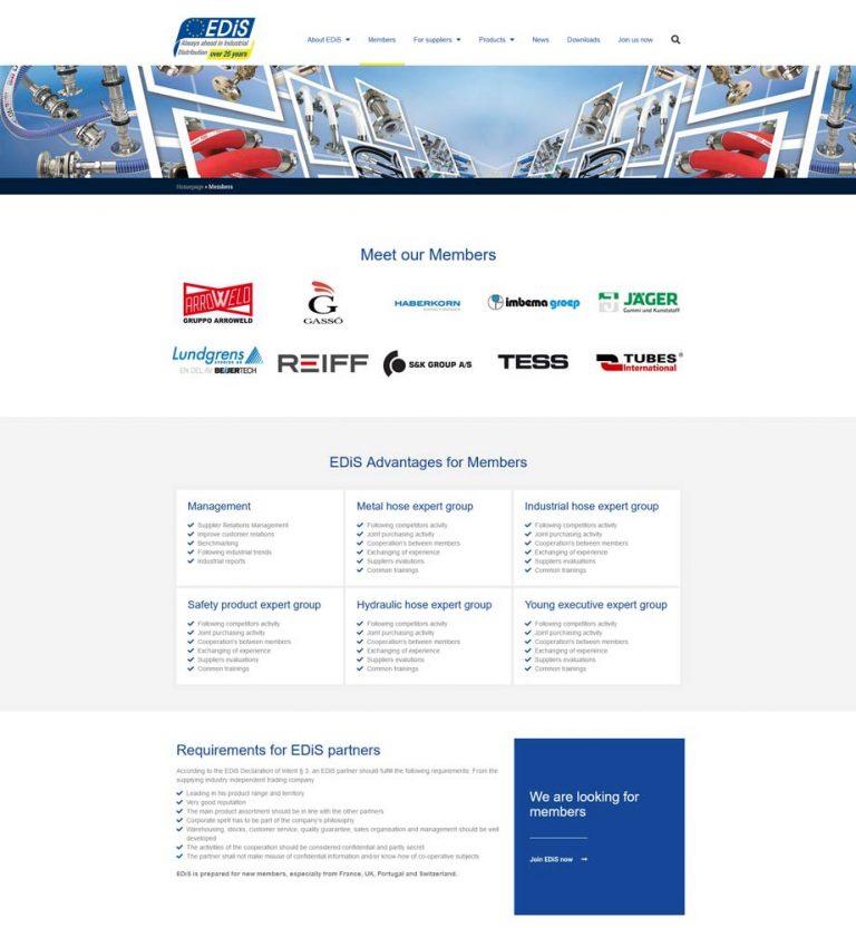 EDiS new website look